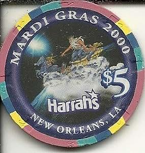 Amazon Com 5 Harrahs Mardi Gras 2000 New Orleans