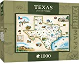 MasterPieces Xplorer Texas Map 1000 Piece Jigsaw Puzzle