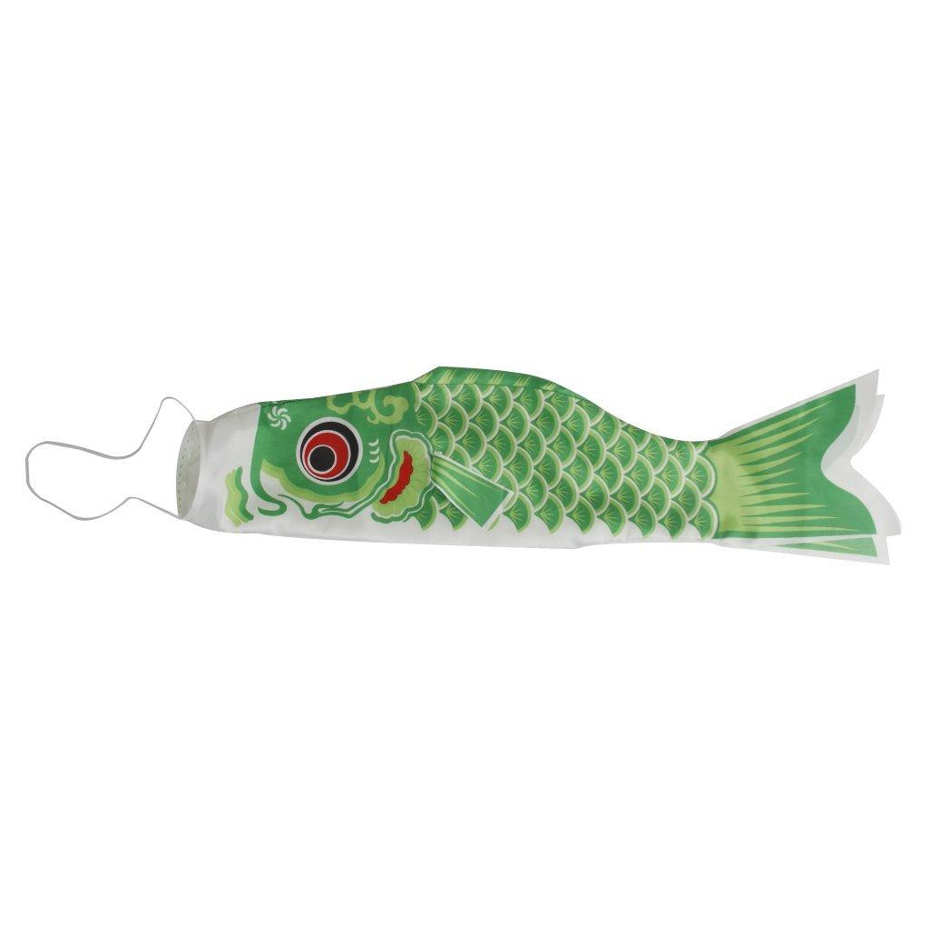 55cm japanese windsock carp flag koinobori sailfish fish wind