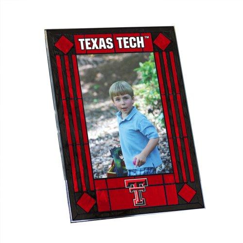 Texas Tech Art Glass Frame (Ncaa Glass Hand Painted Art)