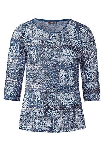Street One - Camiseta - para mujer delta blue