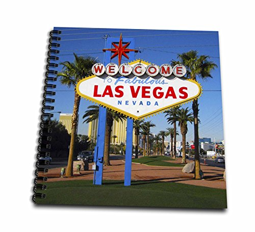 3dRose db_156501_2 Welcome to Fabulous Las Vegas, Nv Memory Book, 12 by 12