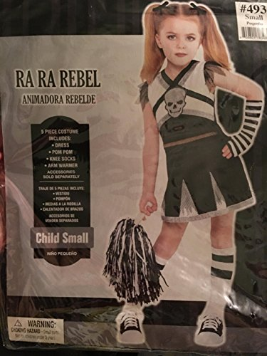 AMSCAN Rah Rah Rebel Cheerleader Halloween Costume for Girls, Small, with Included Accessories ()