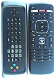 New Genuine VIZIO Smart TV Qwerty dual side keyboard remote control for XVT323SV XVT373SV XVT423SV XVT473SV XVT553SV --this is original remote, do not need any program, only put into battery can work