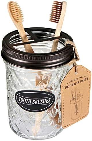Amolliar Mason Toothbrush Holder Bronze