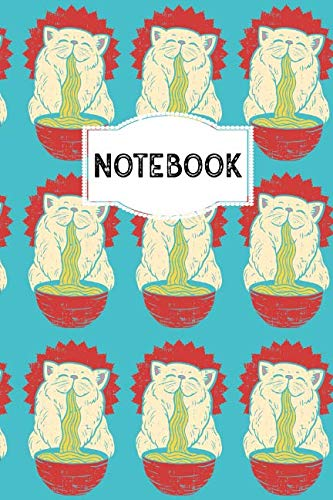 Notebook: 110 Lined Pages | 6 x 9 Inches | Manga College Ruled Notebook, Journal or Dairy | Birthday or Christmas Gift Idea for Women, Men and -