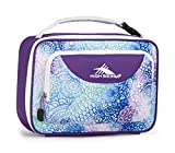 High Sierra Single Compartment Lunch Bag, Flower Daze/Deep Purple/White Review