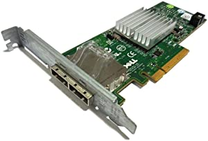 Dell SAS External Dual Ports PCI-E 6GB/S Host Bus Server Adapter 12DNW 342-0910 Consumer Electronics
