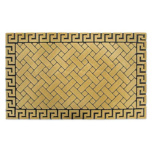 Non-Slip Outdoor/Indoor Flocked Doormat, 18x30