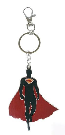 Llavero Superman Silueta Man of Steel: Amazon.es: Juguetes y ...