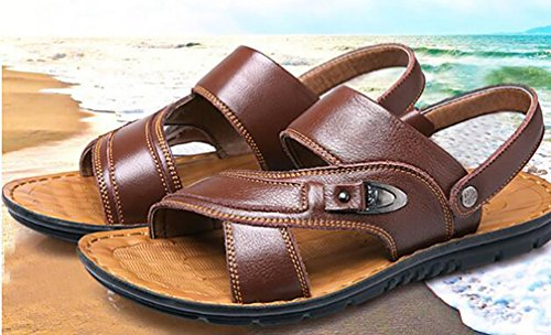 Uomo Marrone 40 Leather YVWTUC Brown Ballerine Y5g6qxnEw