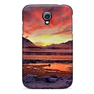 Premium Protection Twilight Cook Inlet Alaska Case Cover For Galaxy S4- Retail Packaging