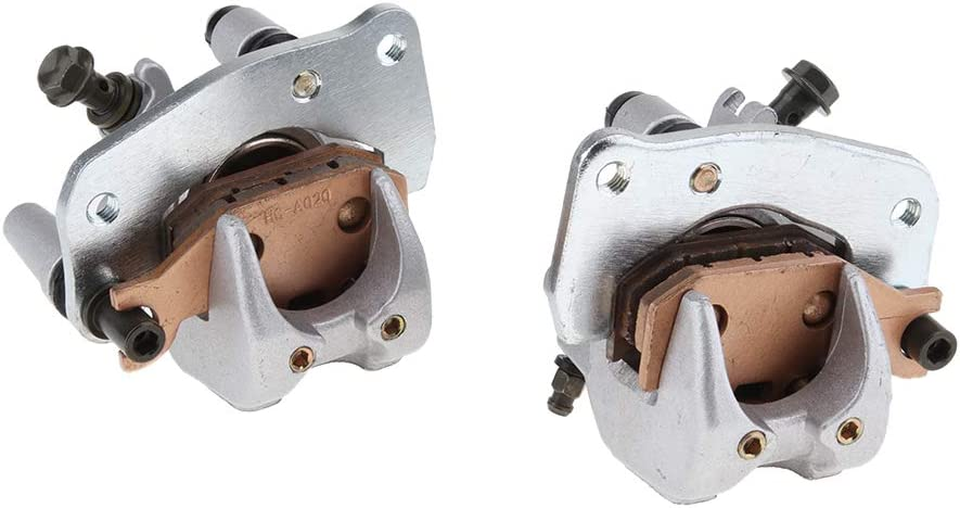 B Blesiya LEFT RIGHT 2 X FRONT BRAKE CALIPER for Suzuki KING QUAD 750