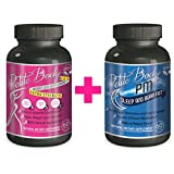 Natural Fat Burner AM/PM For Rapid Weight Loss That Works (120 Caps) Burn Belly Fat, Energy Booster W/ No Jitters, Diet Pills For Women That Work by Petite Body