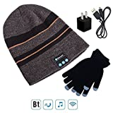 Best Caps With Stereo Speakers - Wireless Bluetooth 4.1 Beanie Hat Cap with Music Review