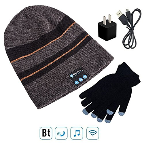 Wireless Bluetooth 4.1 Beanie Hat Cap with Music Phone Sp...