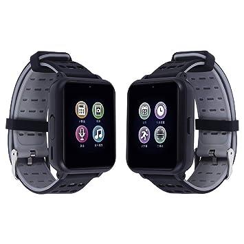 Reloj Inteligente Mujer Hombre Niños Smartwatch Pulsera de Actividad Inteligente con Pantalla Táctil Ranura para Tarjeta SIM Cámara para iPhone Samsung ...