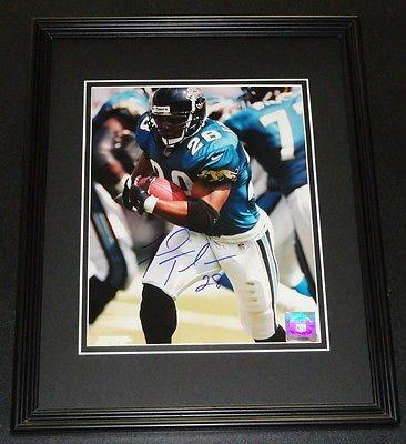 - Fred Taylor Signed Framed 8x10 Photo Jacksonville Jaguars Florida