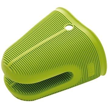 lku protection pinza para cocina silicona color verdenegro