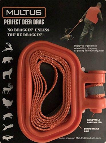 MULTUS: Deer Drag, Sled and Harness Handle, Turkey Tote, Sled Handle, Hunting Gear Handle, Cord wrap Handle, Strap Handle, Deer Handle, Dog Handle, Lifting Handle, Camping Handle, Shop Handle,