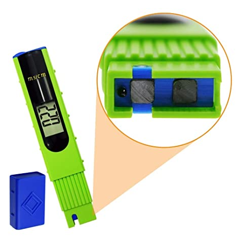 dareko 1pcs Digital Pen Type Backlight Hydroponics LCD EC