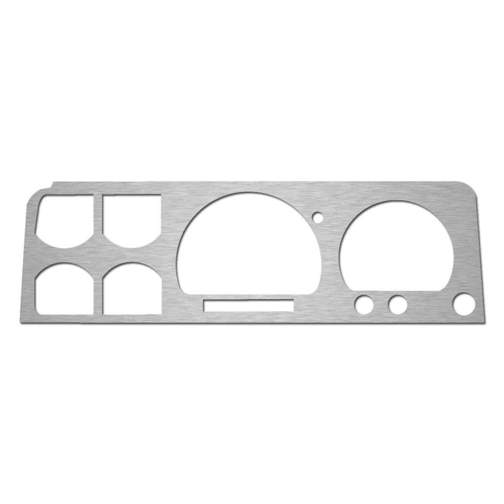BZL-161-Aluminum 1989-1994 Ford Ranger With Tachometer Ferreus Industries Brushed Aluminum Gauge Cluster Dash Bezel Trim fits RPM Gauges