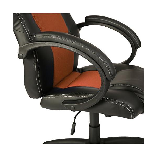 TRESKO® Sedia da ufficio girevole per casa Poltrona ufficio