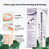 AZALLY Advanced Scar Gel - Scar Diminishing Serum - Reduces the Appearance of Old & New Scars - Best Scar Treatment for Repair Scars from Burns Cuts Acne Spots Stretch Marks