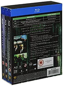 The Complete Matrix Trilogy (The Matrix / The Matrix Reloaded / The Matrix Revolutions) [Blu-ray] by Imports