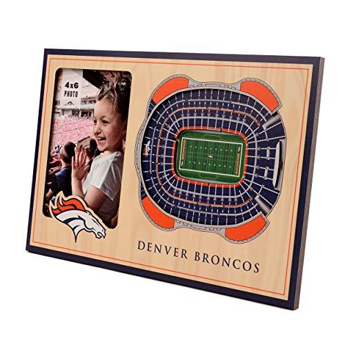 NFL Denver Broncos 3D StadiumViews Picture Frame