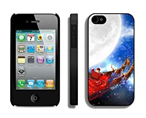 Best Buy Design Santa Claus iPhone 5s Case 17 Black