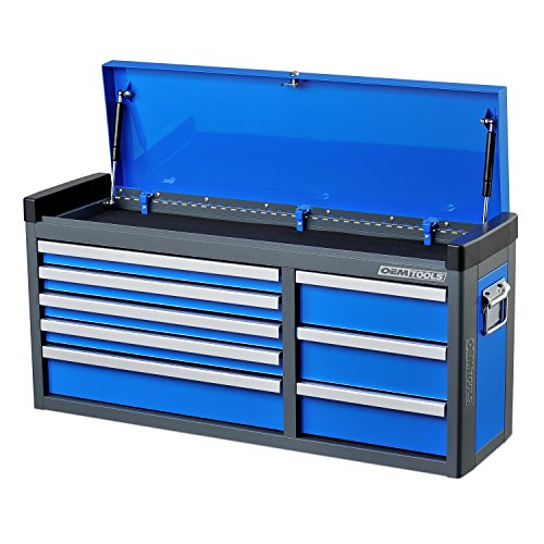 """OEMTOOLS 24611 Blue 41"""" 8 Drawer Top Chest"""