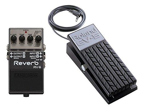 【エクスプレッションペダル/EV-5付】BOSS ボス RV-6 Reverb 高音質リバーブペダル B013JD30R4