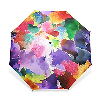 2017 Vintage Gorgeous Colorful Floral Pattern Umbrellas Women Rain Umbrella for Child Girl Gift Rain Gear