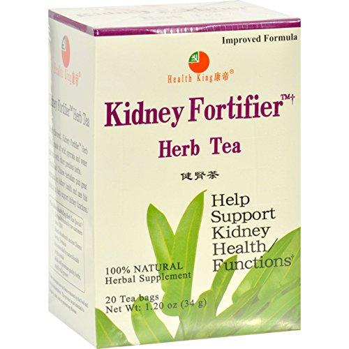Health King Kidney Fortifier Herb Tea - Natural - 20 Tea Bags (Pack of (Kidney Fortifier Herb Tea)
