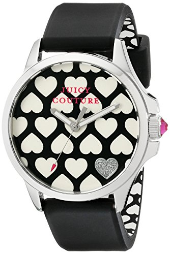 Juicy Couture Women's 1901220 Jetsetter Analog Display Quartz Black Watch ()