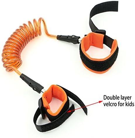 Kids anti-lost muñeca Enlace, caminar arnés de seguridad correa ...