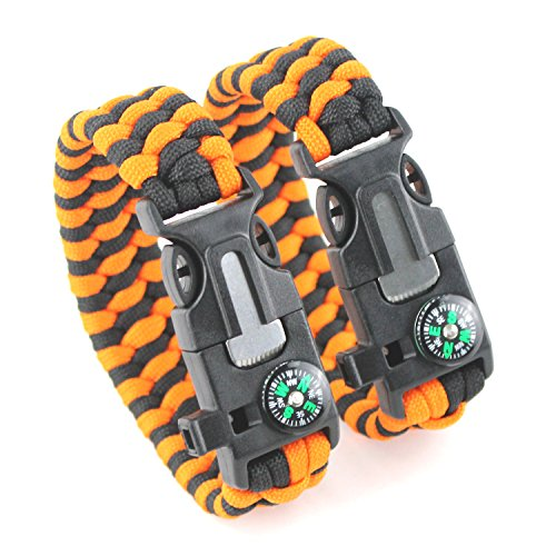 DETUCK Survival Bracelet Paracord Starter