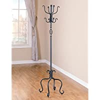 Curved Metal Coat Rack by Coaster Home Furnishings