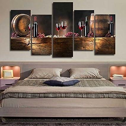 Kicode Salón Cocina Dormitorio Cuadro de arte Murales de bricolaje ...