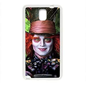 Happy Alice In Wonderland Case Cover For samsung galaxy Note3 Case