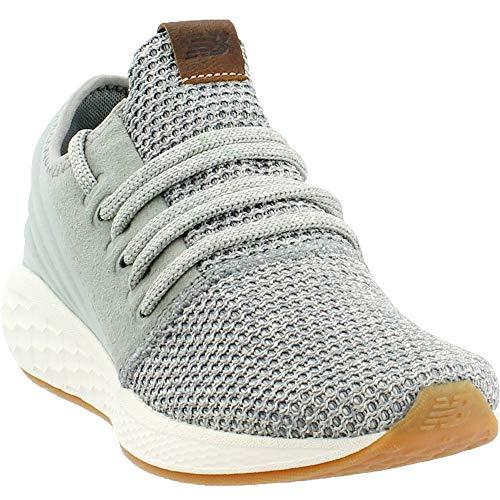 New Balance Women's Cruz V2 Fresh Foam Running Shoe, Seed/Light Cliff Grey/sea Salt, 9 B US