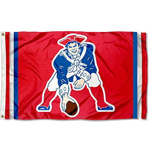 WinCraft New England Patriots Pat Patriot Vintage Flag -