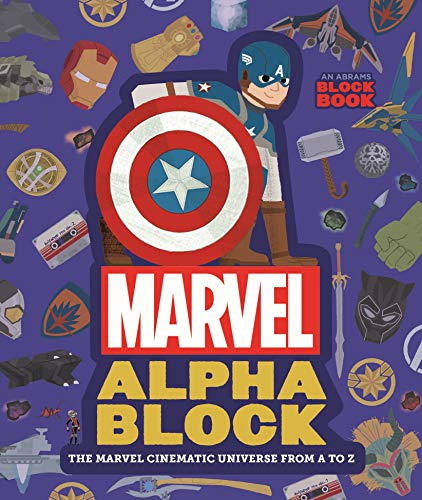 Marvel Alphablock: The Marvel Cinematic Universe from A to Z (An Abrams Block Book) (Board Books Blocks)