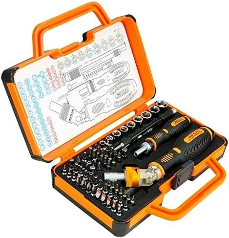 Deluxe Cell Phone Repair Tool Kits JM-6115 60 in 1 Professional Precision Screwdriver Hardware Repair Tools Demolition Kit Repair Kits