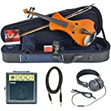Bunnel NEXT Forte Electric Violin Outfit (Marigold) Amp Included