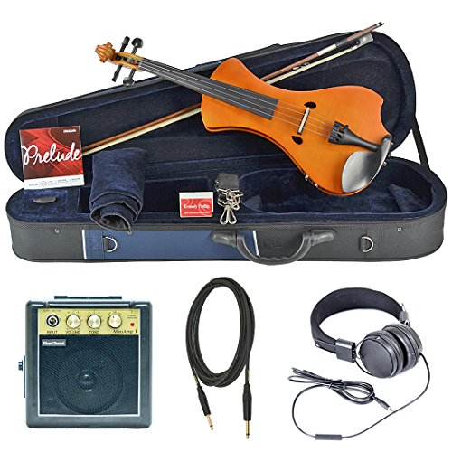 Bunnel NEXT Forte Electric Violin Outfit (Marigold) Amp Included by Kennedy Violins
