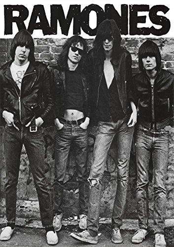 - Ramones (Group B&W) Music Poster Print 24 x 33in