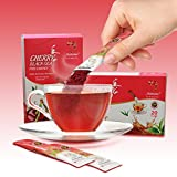 Higher Tea Cherry Black Instant Tea Perfect Hot or Cold, Makes Delicious Iced Tea, 20 Sachets