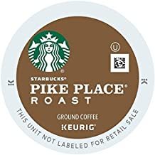 Starbucks Pike Place Roast, K-Cup Portion Pack for Keurig Brewers, 24-Count